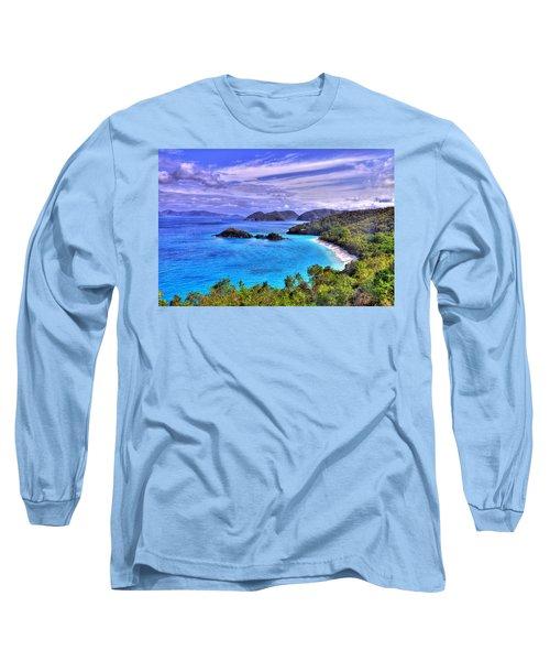 Isle Of Sands Long Sleeve T-Shirt by Scott Mahon
