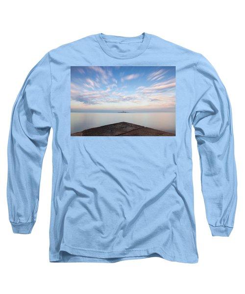 Islet Baraban With Lighthouse Long Sleeve T-Shirt