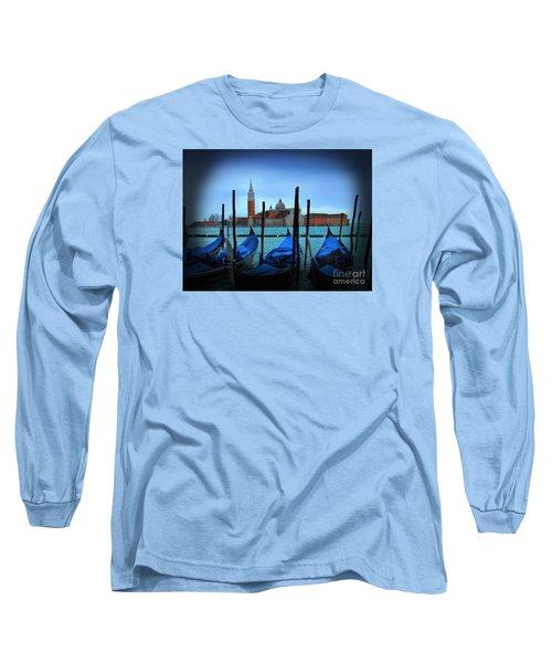 Isola Di San Giorgio, Venice, Italy IIi Long Sleeve T-Shirt by Al Bourassa