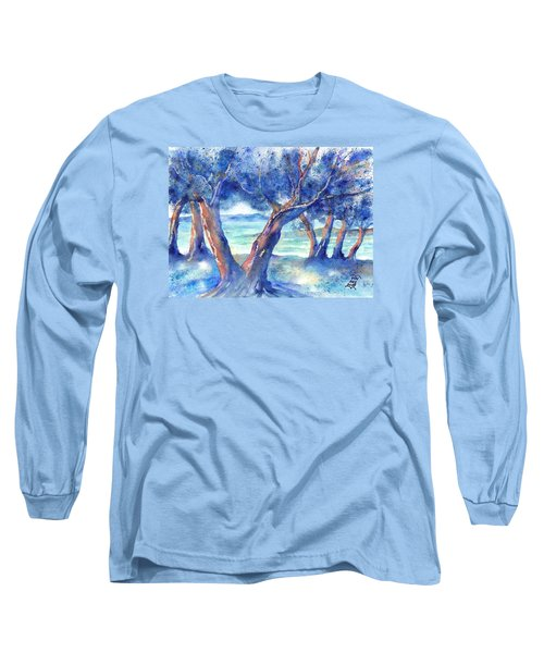 Olive Trees In Greece Long Sleeve T-Shirt