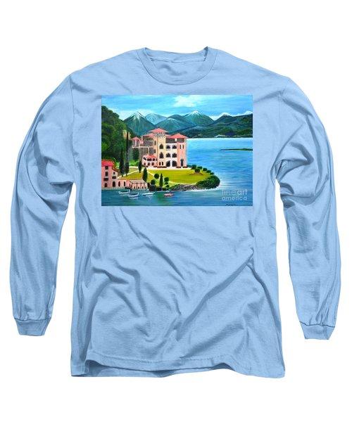 Italian Landscape-casino Royale Long Sleeve T-Shirt