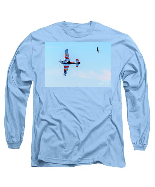 It's A Bird And A Plane, Red Bull Air Show, Rovinj, Croatia Long Sleeve T-Shirt