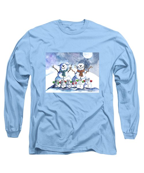 It's Snowing Cats And Dogs And Mice Too Long Sleeve T-Shirt
