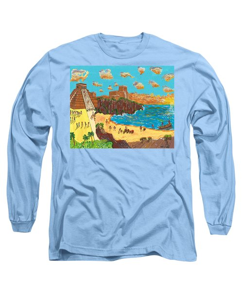 January Pyramid By The Bay Long Sleeve T-Shirt