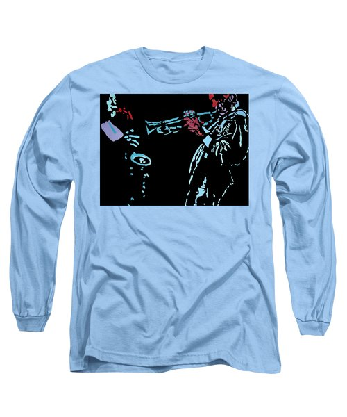 Jazz Duo Long Sleeve T-Shirt by Angelo Thomas