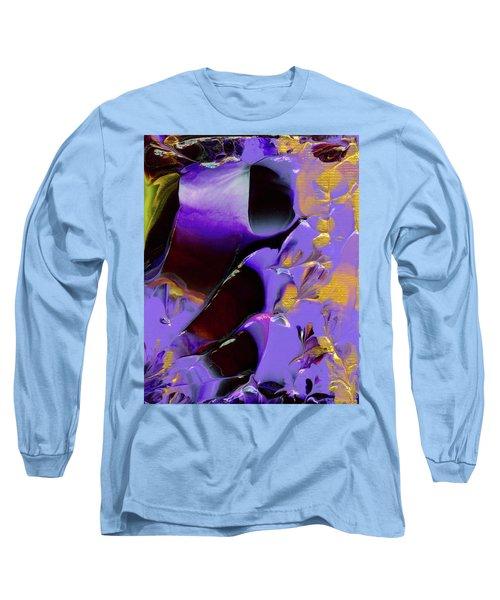 Jeweled Amethyst Long Sleeve T-Shirt