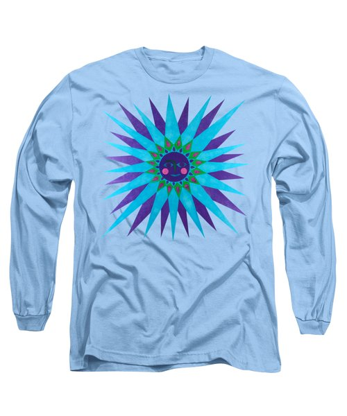 Jeweled Sun Long Sleeve T-Shirt