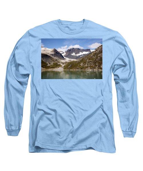 John Hopkins Glacier 5 Long Sleeve T-Shirt by Richard J Cassato