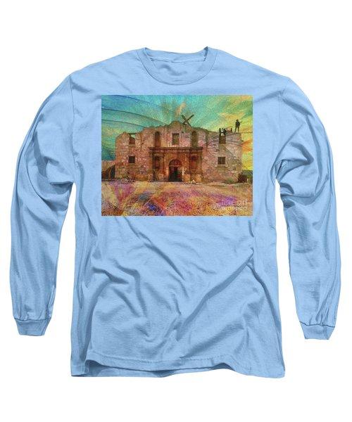 John Wayne's Alamo Long Sleeve T-Shirt