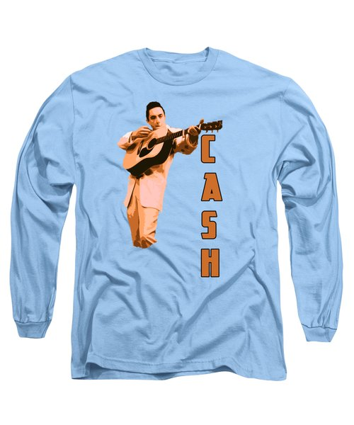 Johnny Cash The Legend Long Sleeve T-Shirt