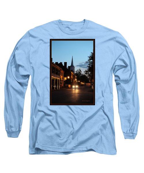 Long Sleeve T-Shirt featuring the photograph Jonesborough Tennessee 10 by Steven Lebron Langston