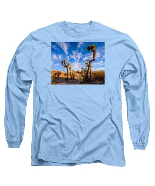 Long Sleeve T-Shirt featuring the photograph Joshua Tree Dawn by Rikk Flohr