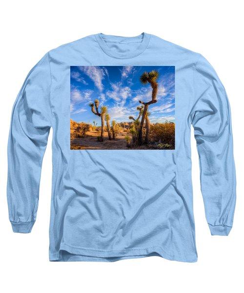 Joshua Tree Dawn Long Sleeve T-Shirt