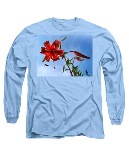Long Sleeve T-Shirt featuring the photograph July by Joy Nichols