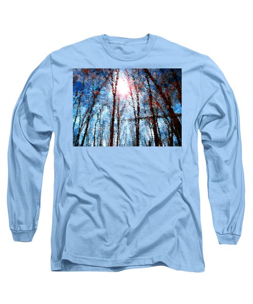 Jumbled Waters Long Sleeve T-Shirt