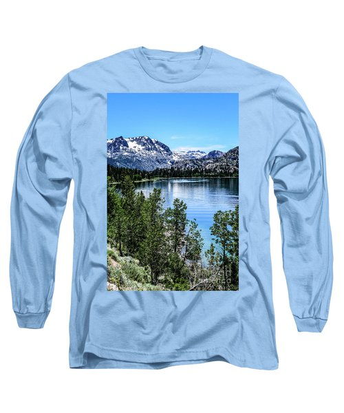 June Lake Portrait Long Sleeve T-Shirt