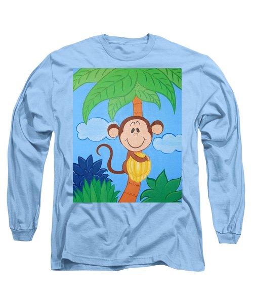 Jungle Monkey Long Sleeve T-Shirt