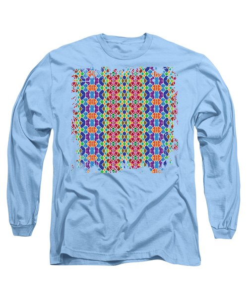 Just A Pattern Long Sleeve T-Shirt