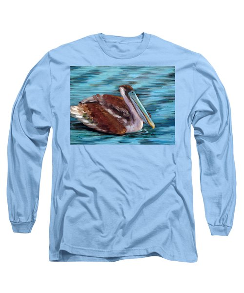 Long Sleeve T-Shirt featuring the painting Just Cruisin by Suzanne McKee