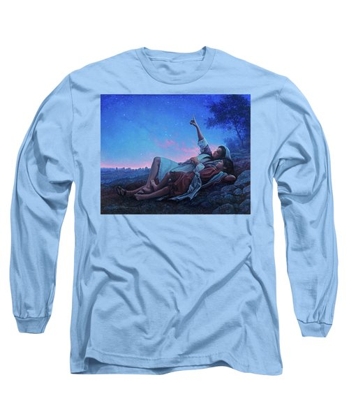 Just For A Moment Long Sleeve T-Shirt by Greg Olsen
