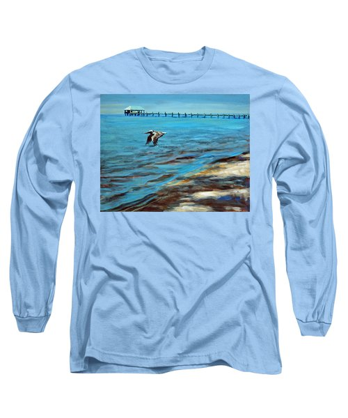 Long Sleeve T-Shirt featuring the painting Just Passing By by Suzanne McKee