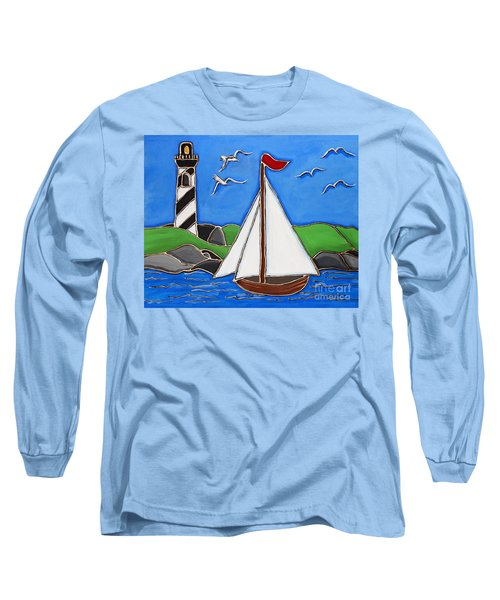Just Sailing By Long Sleeve T-Shirt