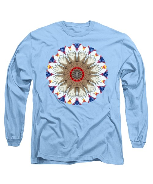 Long Sleeve T-Shirt featuring the photograph Kaleidos - Ptown02 by Jack Torcello