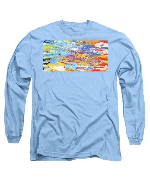 Kaleidoscope Long Sleeve T-Shirt by Ralph White