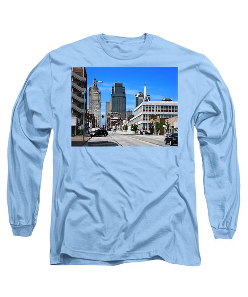 Kansas City Cross Roads Long Sleeve T-Shirt