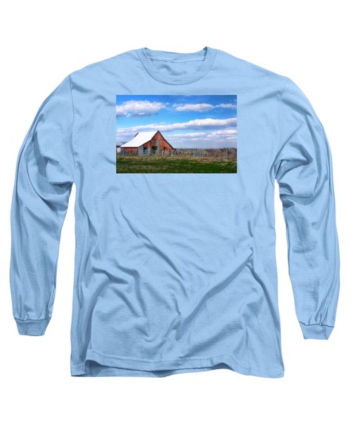 Kansas Farm Long Sleeve T-Shirt