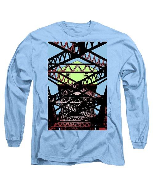 Katy Trail Bridge Long Sleeve T-Shirt by Christopher McKenzie
