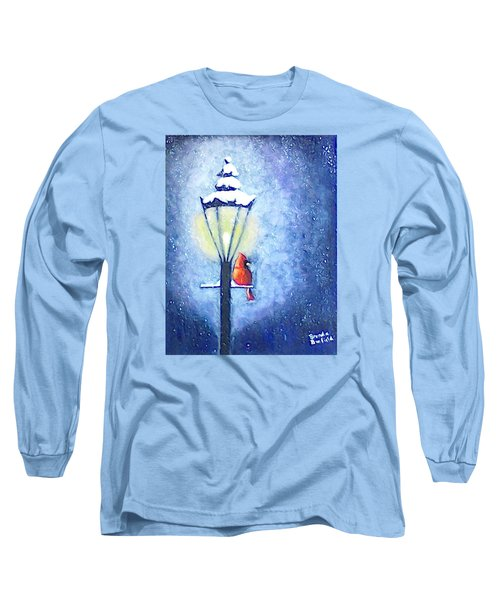 Keeping Warm Long Sleeve T-Shirt by Brenda Bonfield