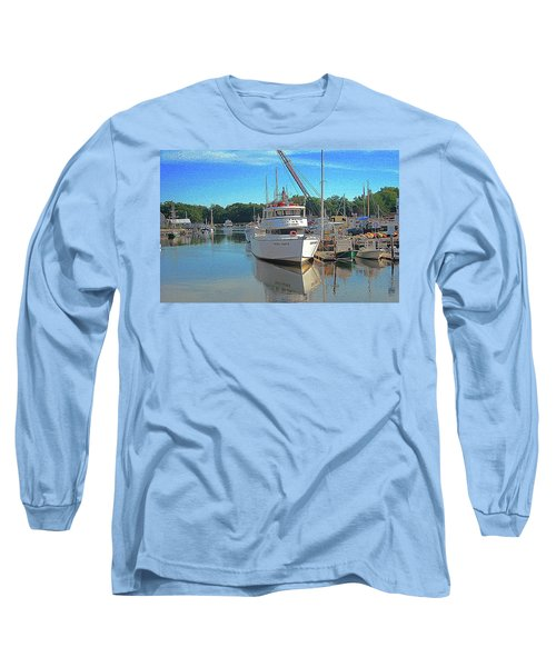 Long Sleeve T-Shirt featuring the photograph Kennebunk, Maine - 2 by Jerry Battle