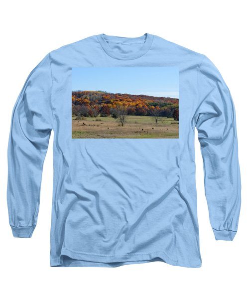 Kettle Morraine In Autumn Long Sleeve T-Shirt