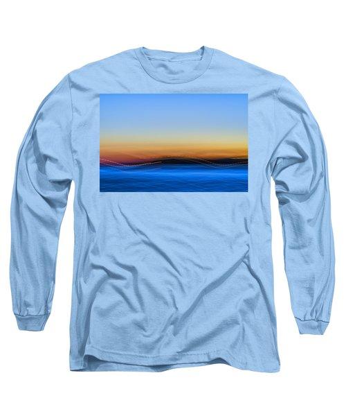 Key West Abstract Long Sleeve T-Shirt