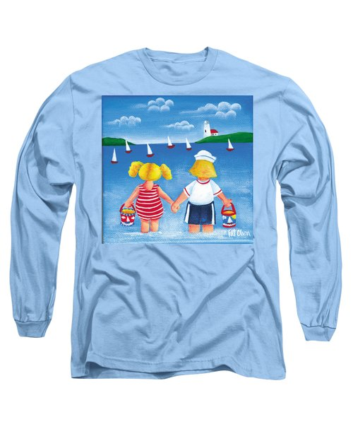 Kids In Door County Long Sleeve T-Shirt