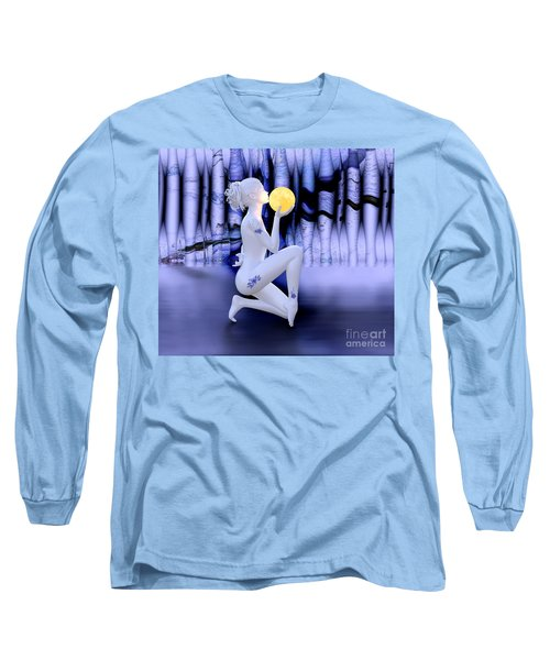 Kissing The Moon Long Sleeve T-Shirt