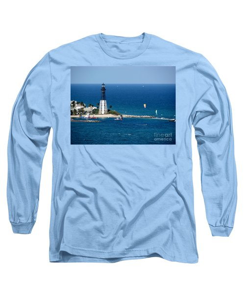 Kitesurfing And More At Pompano Long Sleeve T-Shirt