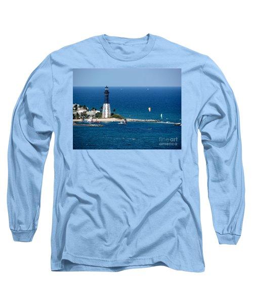 Kitesurfing And More At Pompano Long Sleeve T-Shirt