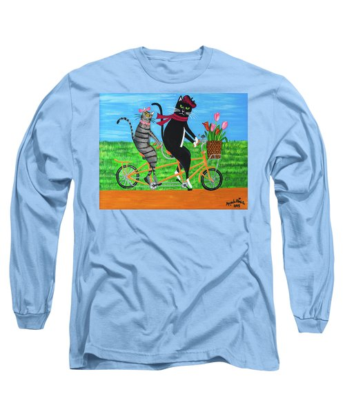 Kitty Cat Outing Long Sleeve T-Shirt