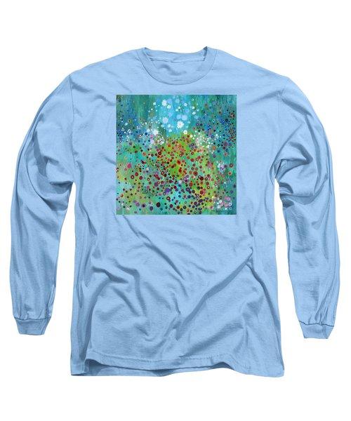 Klimt's Garden Long Sleeve T-Shirt