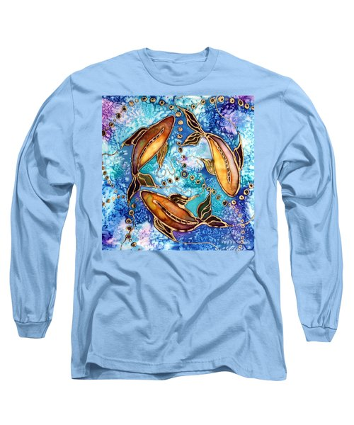 Koiful Long Sleeve T-Shirt by Pat Purdy