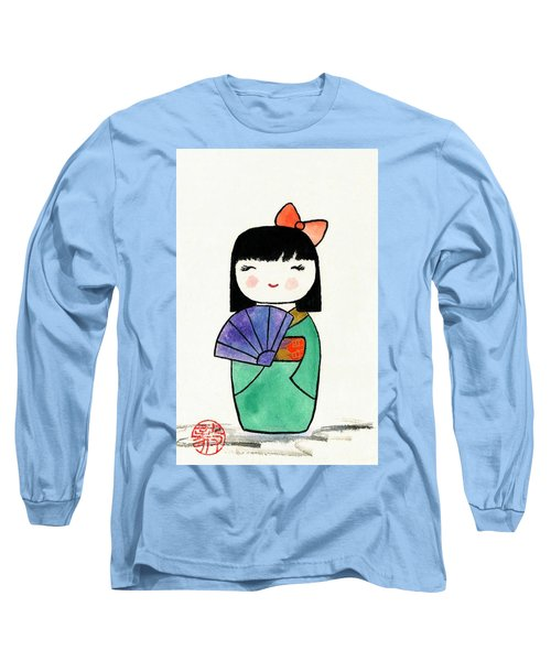 Kokeshi Doll Long Sleeve T-Shirt