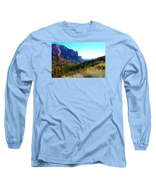 Kolob Canyon Long Sleeve T-Shirt