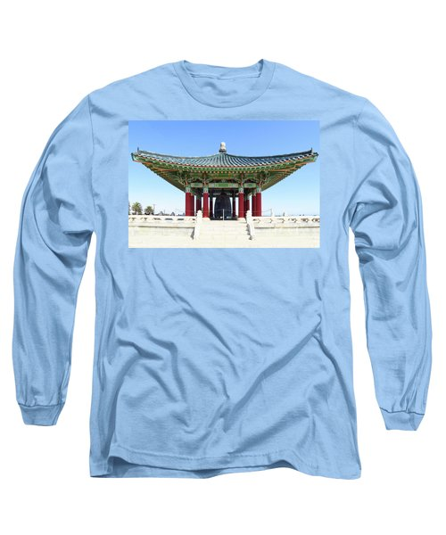 Korean Friendship Bell In Los Angeles Long Sleeve T-Shirt