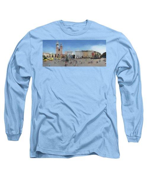 Krakow, Town Square Long Sleeve T-Shirt