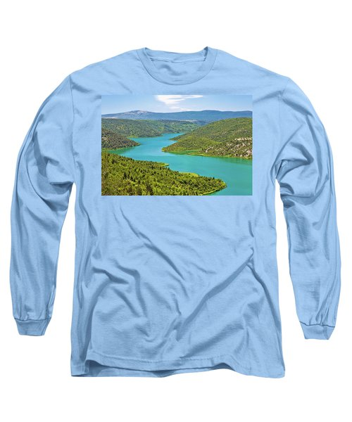 Krka River National Park View Long Sleeve T-Shirt by Brch Photography