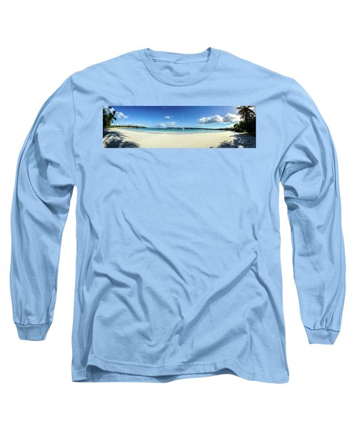 Kuto Bay Morning Pano Long Sleeve T-Shirt
