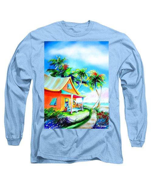 La Casa Cayo Hueso Long Sleeve T-Shirt