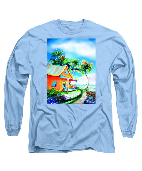 La Casa Cayo Hueso Long Sleeve T-Shirt